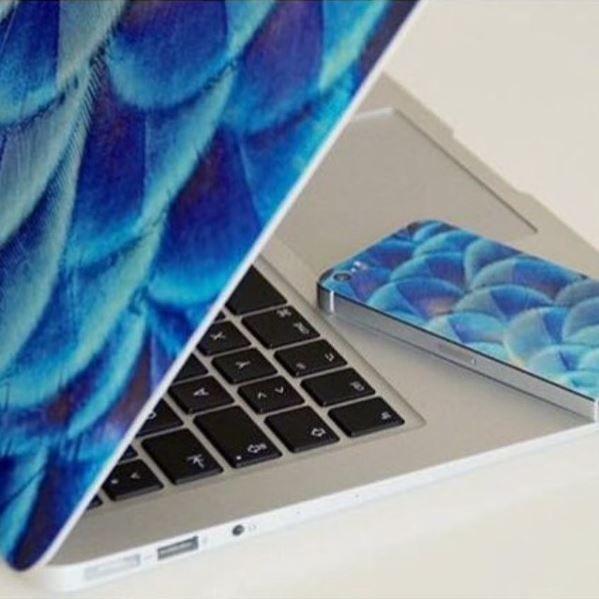 Egal ob iPhone oder Macbook, mit einer schicken Klebefolie sieht beides gleich doppelt so gut aus! | creatisto