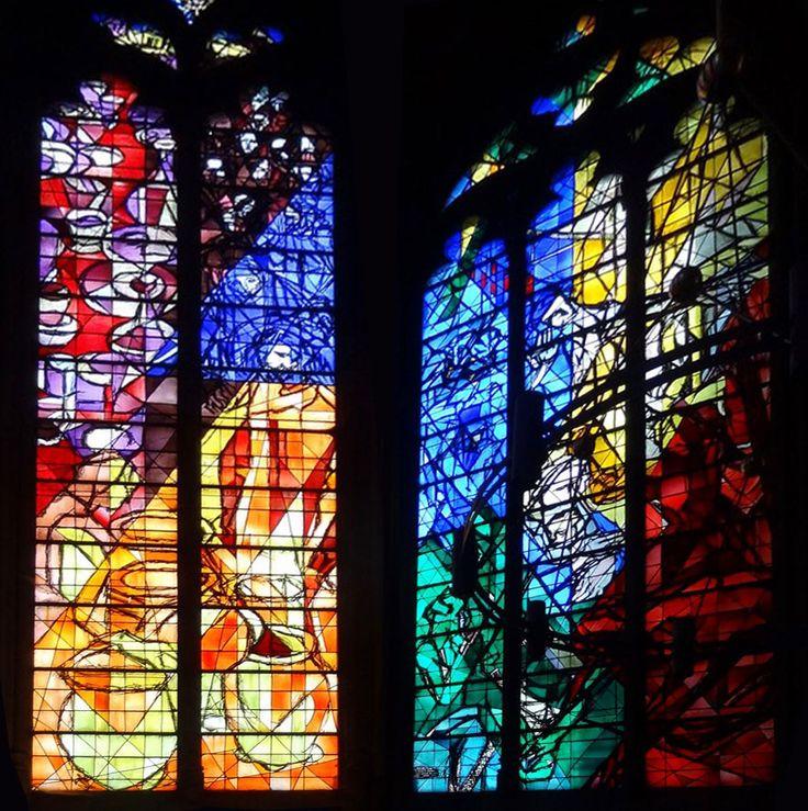Марк Шагал Витражи собора Святого Стефана в Меце