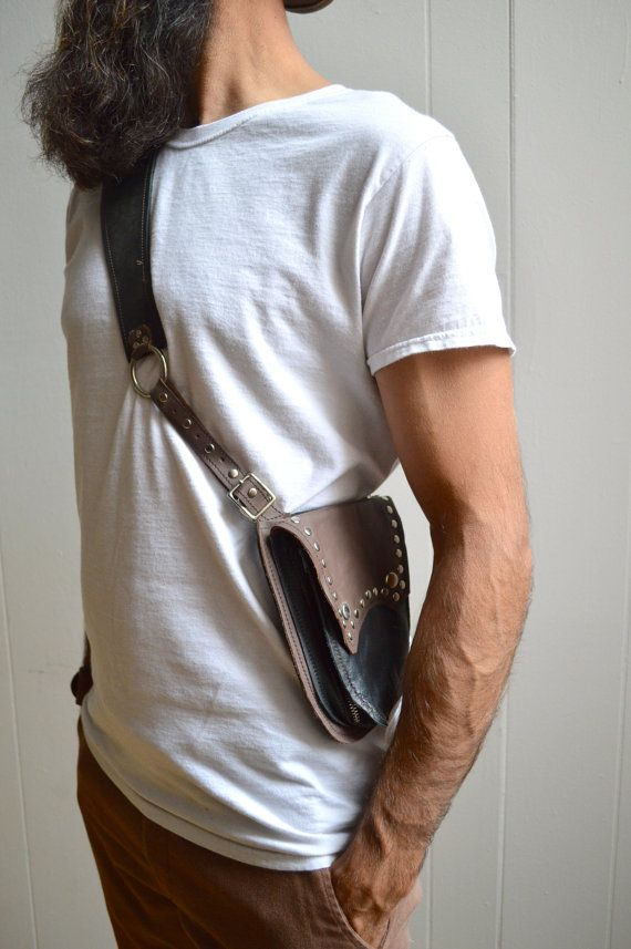 Copper leather holster bags western holster gun holster