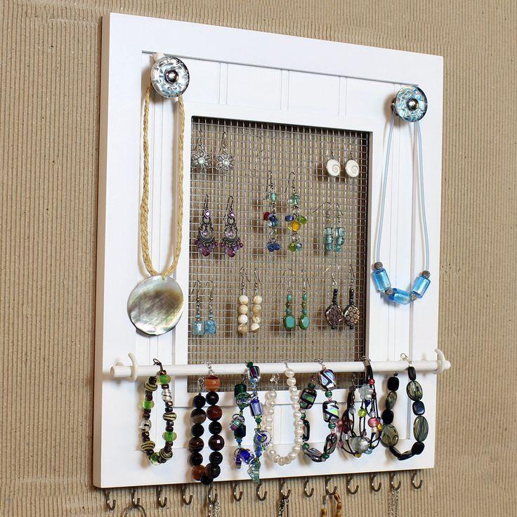 Jewelry Organizer want to make this!!