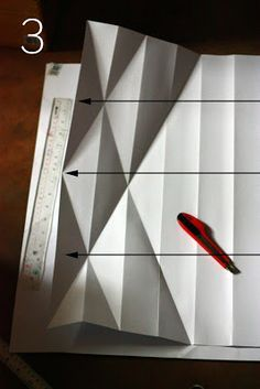 """This pattern is applicable for a whole vellum cartolina paper with the size 28.5"""" x 21.75"""". You may apply this to a short bond siz..."""