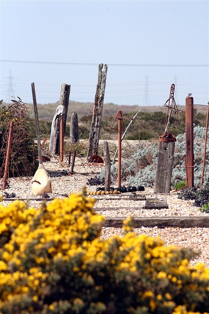 Derek Jarman's garden II by Keith Welch, via Flickr