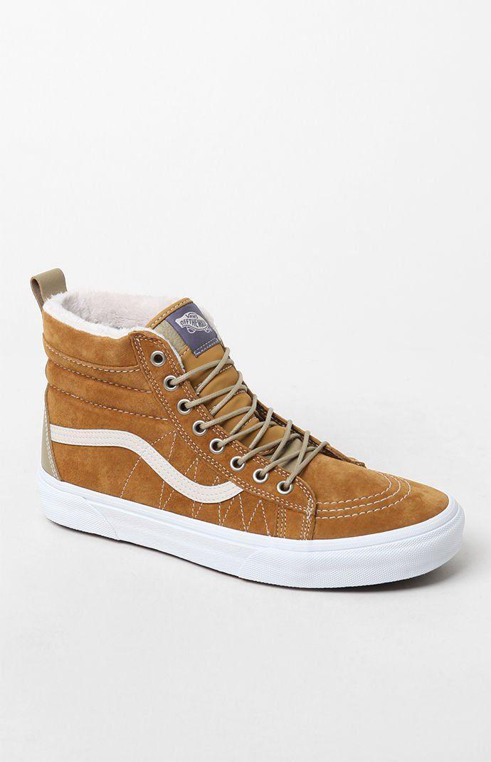 Vans Sk8-Hi MTE Shoes | PacSun | Tan