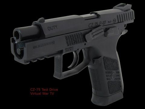 CZ-75 P07 Duty .40 Caliber S | FIRST TIME TEST FIRING Find our speedloader now!  http://www.amazon.com/shops/raeind