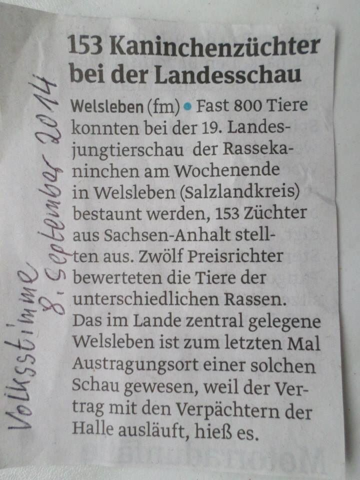 Landesjungtierschau 2014