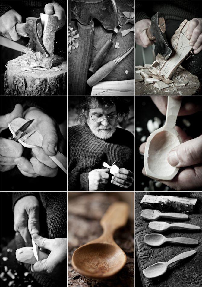 Martin Damen's Wood Spoons