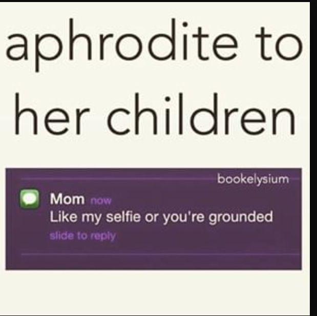 The Life of a Fangirl, Basically - #15 Aphrodite As a Mom #wattpad #random
