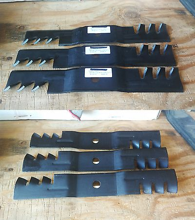 Other Lawnmowers 159929: John Deere Set M113517 ( 3 ) Gator Style Mower Blade (15-6420) 48 Cut -> BUY IT NOW ONLY: $36 on eBay!