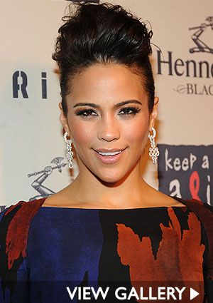 Paula Patton. Beautiful makeup.