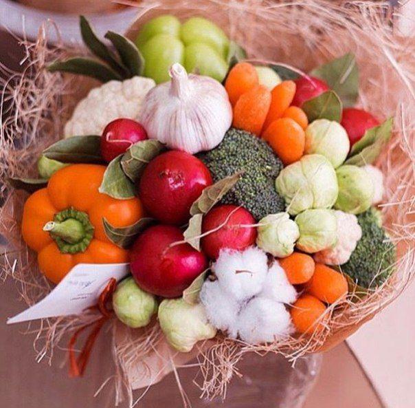 Фотографии Очень хорошо: букеты из овощей *Первые в России* | 14 альбомов