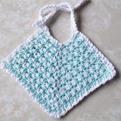 Crochet Cotton Baby Bib Pattern : crochet patterns baby bibs FREE BABY BIB CROCHET PATTERN ...