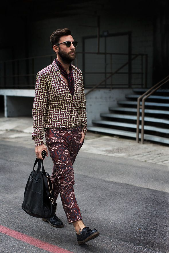 At Dries van Noten, from 'The Sartorialist' blog - july 2013