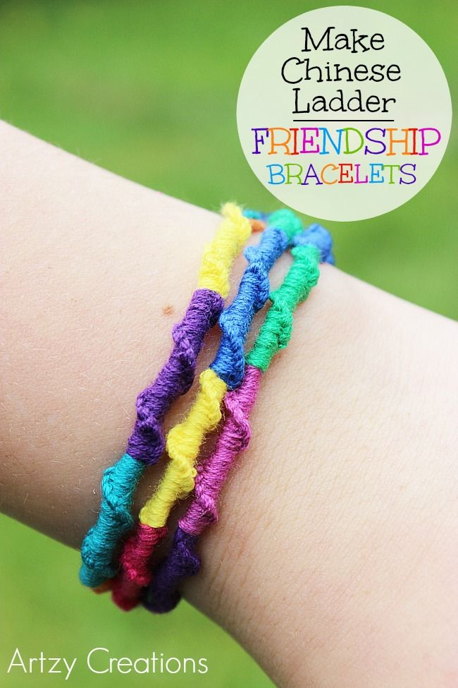 Learn how to make Chinese Ladder Friendship Bracelet!