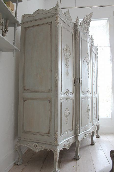 1000 images about armoires on pinterest louis xvi - Muebles antiguos reciclados ...