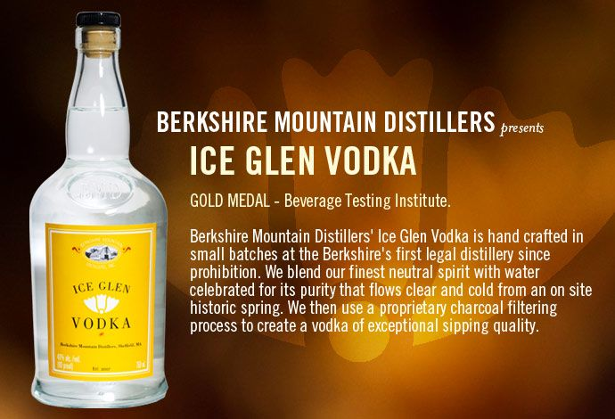 "Berkshire Mountain Distillers' ""Lenox Lemonade"" = Ice Glen Vodka + Ripe Sour Mix."