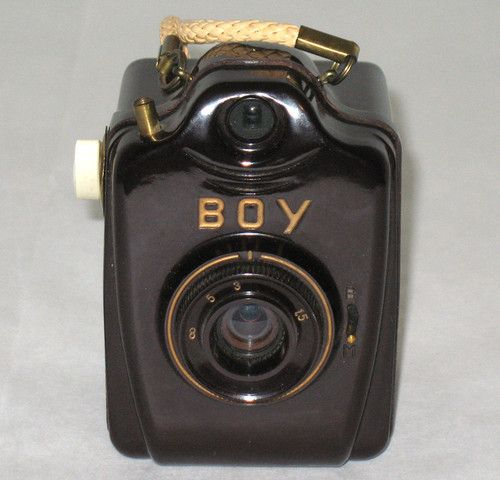 Vintage RARE Bilora Bakelite Boy 127 Box Camera Germany EXC Cosmetic Working | eBay