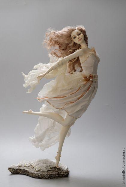 Коллекционные куклы ручной работы. Ярмарка Мастеров - ручная работа. Купить Танцующие с ветром. Бриз. Handmade. Авторская ручная работа