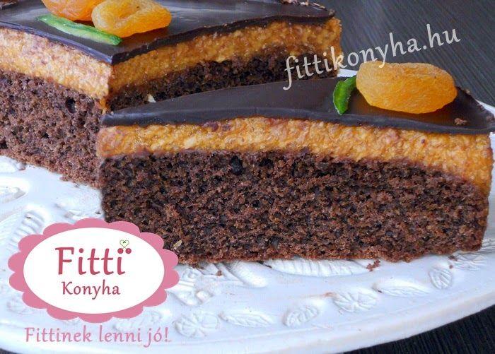 Fitti Konyha: Fitti Sacher torta - Szuper egészséges recept!