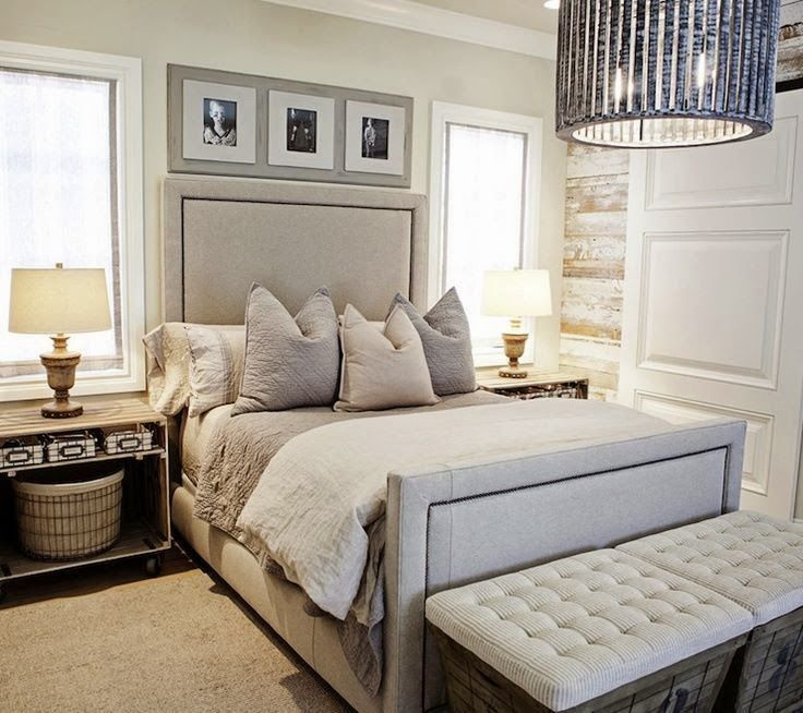 Designing Home: Design Solutions: A bed between two windows