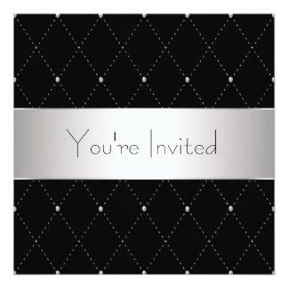 black tie event invitation