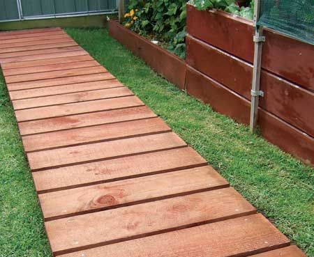 25 best ideas about wood walkway on pinterest pallet walkway flood areas and glamping - Garden wooden walkways ...