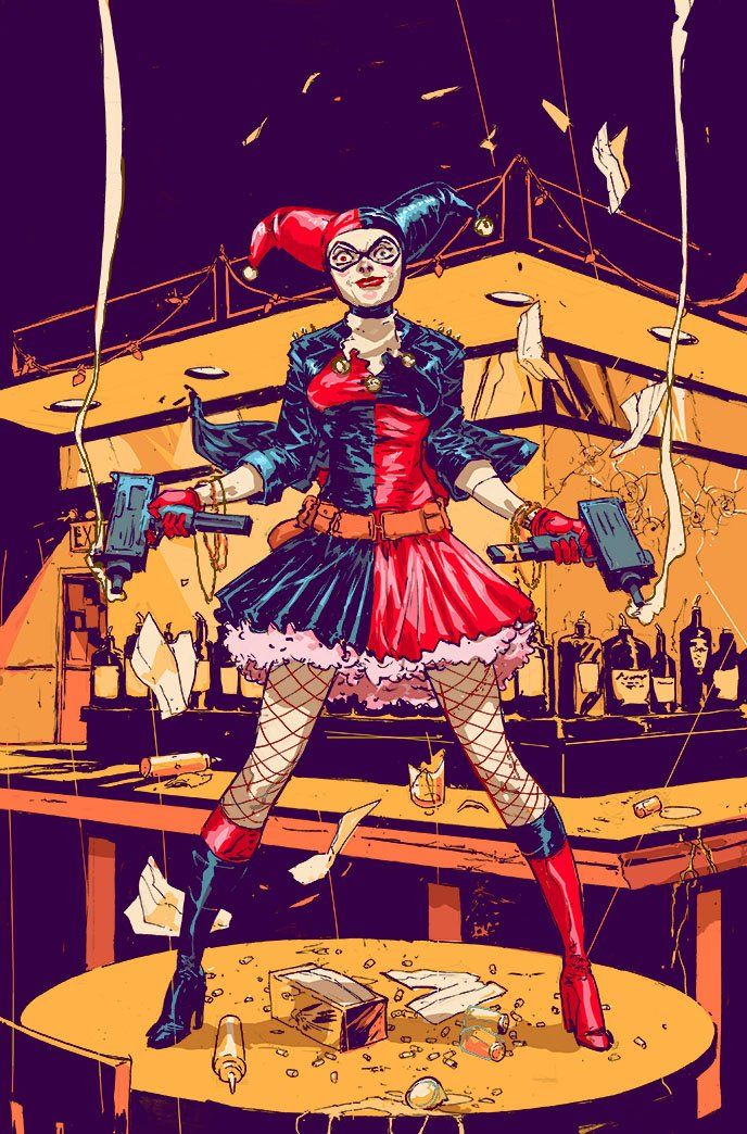 Harley Quinn by Riley Rossmo