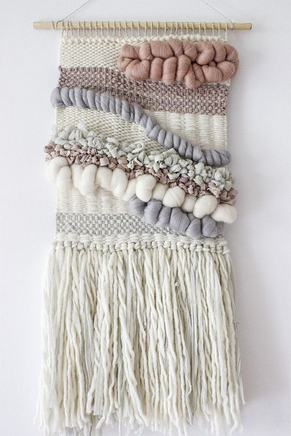 Woven wall hanging Tapestry wall hanging Woven by weavingmystory