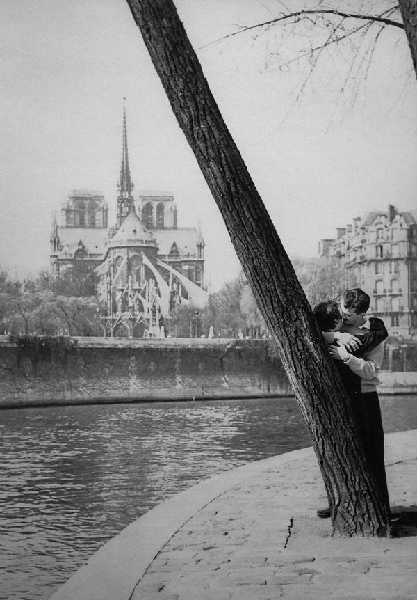 Qué foto tan bonita. Paris, 1950. Patrice Molinard