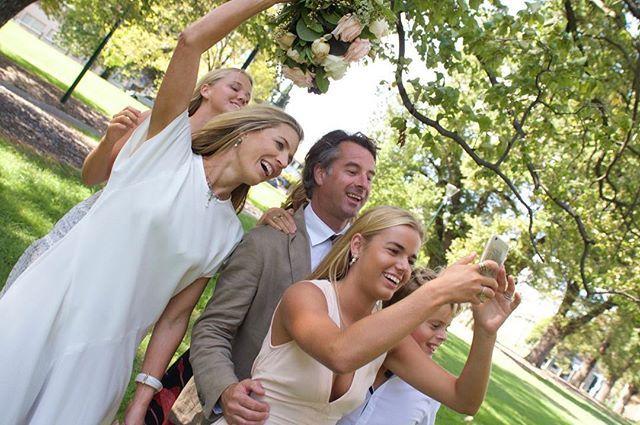 Love a Wedding Selfie!! #melbournebride #selfie #realweddings #melbournewedding #katesgotacamera #wedding #canon6d #wanderlust #outdoorweddings