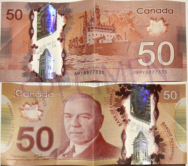 Canada 50 Dollar 2012 banknote :: WorldMoneyMax.com Canada 50 / Bank of Canada / Banque du Canada...