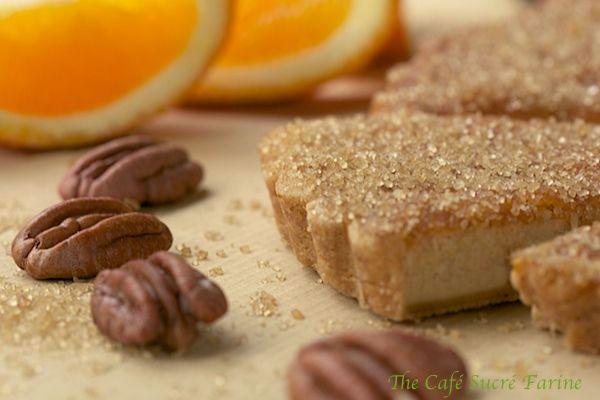 Orange-Pecan Shortbread Cookies | Cookie Recipes | Pinterest