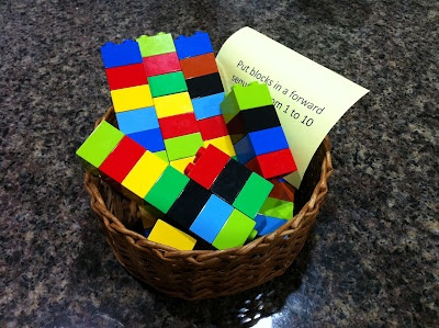 Teaching Counting with Lego Bricks
