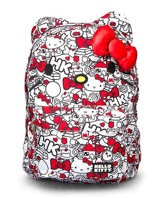 hello kitty backpack! Love it! :))