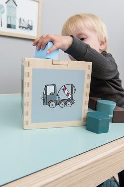 Деревянная игрушка-сортер Sebra в продаже на bunnyhill.ru