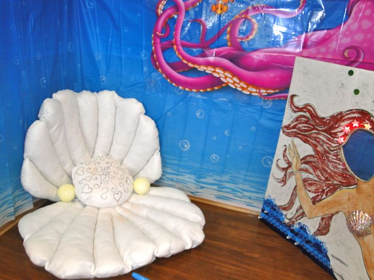 Whats a mermaid diva without a pearl oyster shell chair to ...