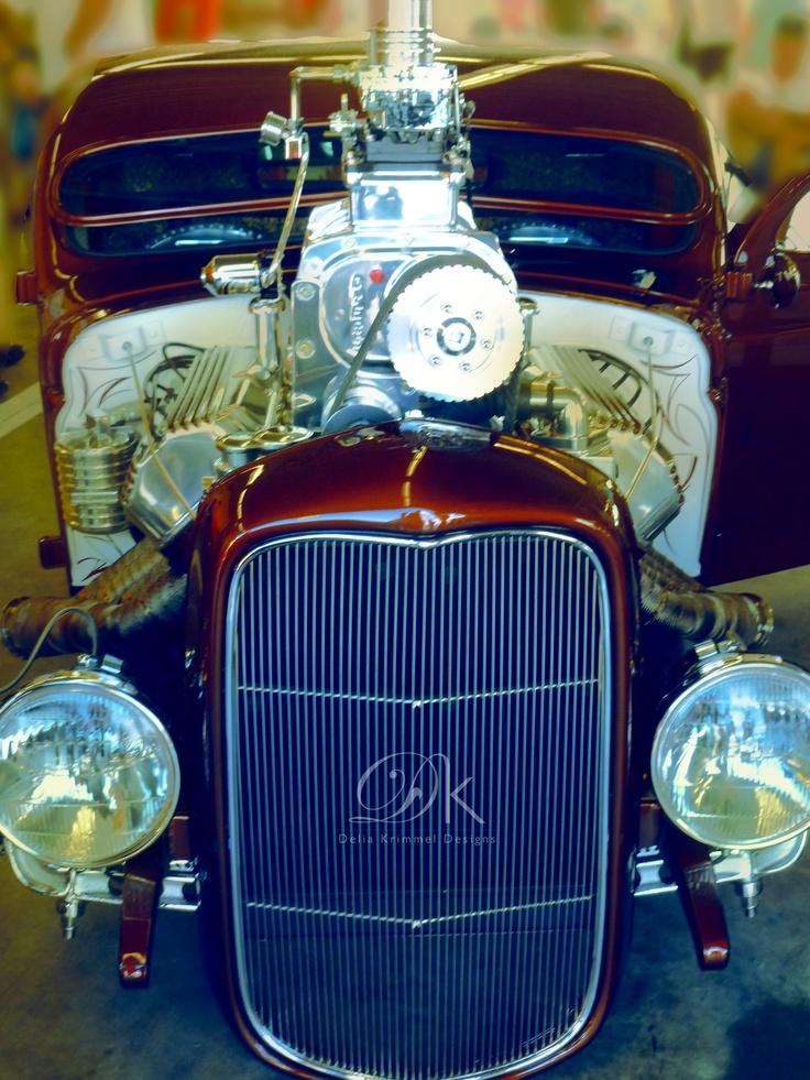 Vintage- at Daytona Speedway.