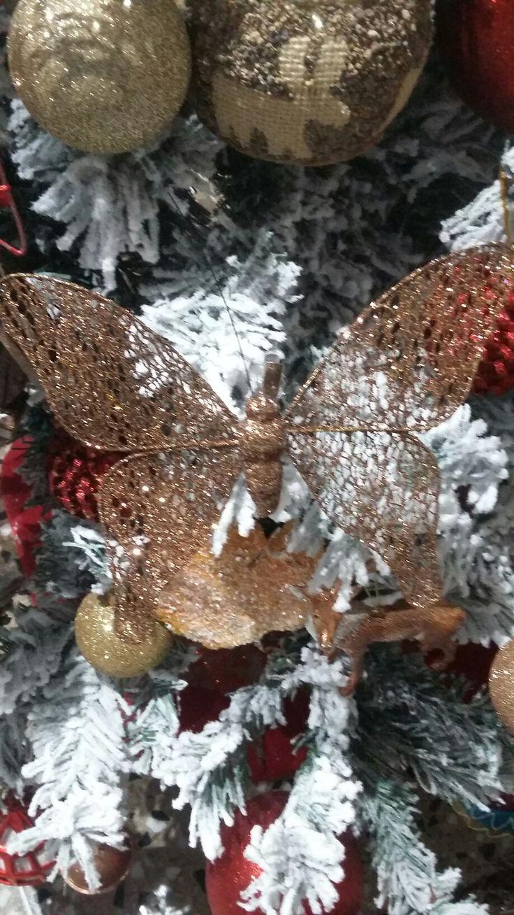 mariposa purpurina