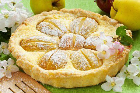 Apfel-Käsekuchen - Rezept