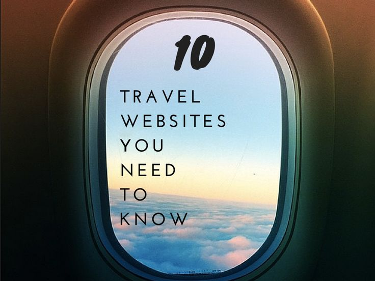 The top ten travel websites you need to know in 2015.