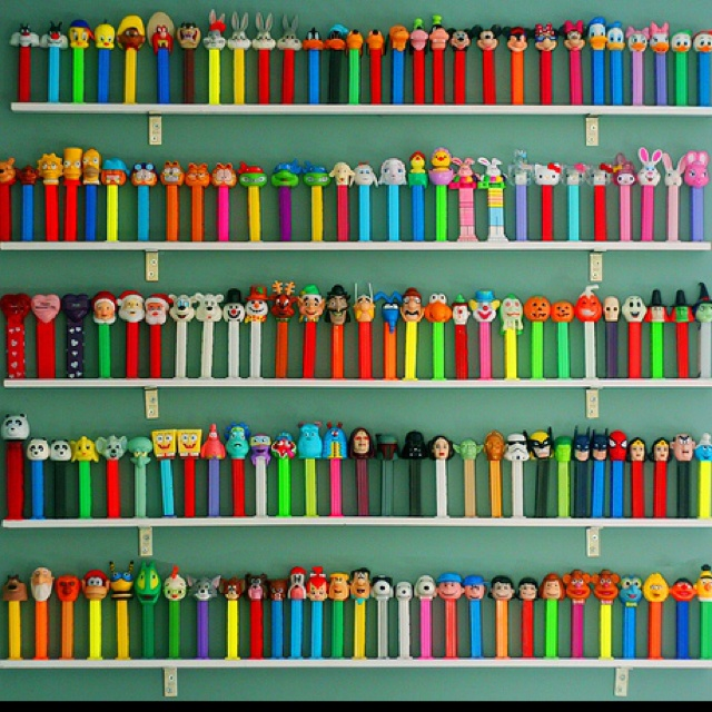 collecting a pez