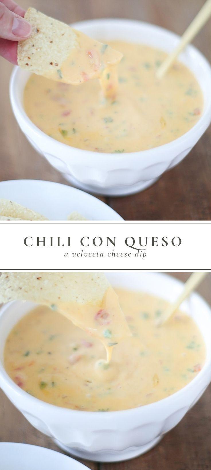 Velveeta Cheese Dip is the perfect appetizer for any event! Velveeta Dip is made…