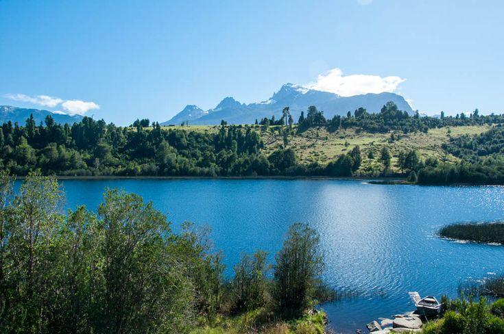 Lake near La Junta on the Carretera Austral, Southern Chile.