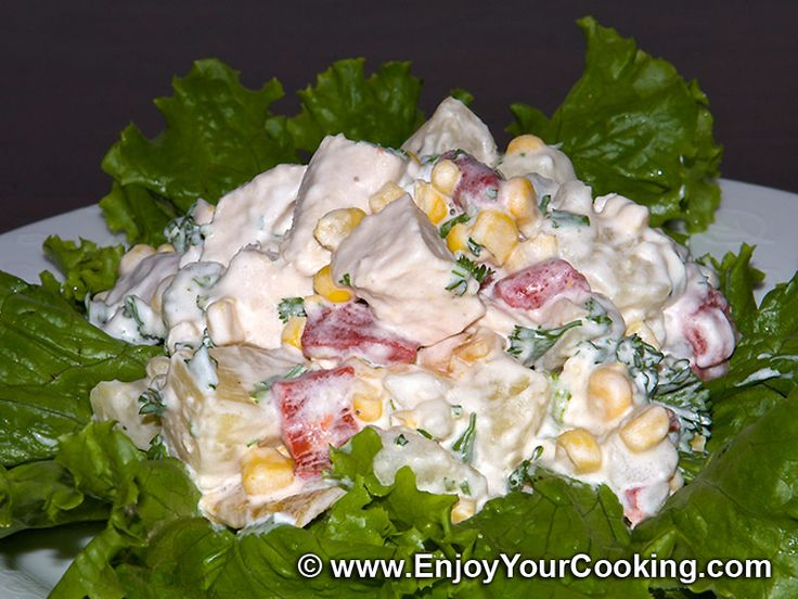 Chicken with Pineapple Salad Recipe