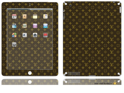 Vinyl stickers for iPad