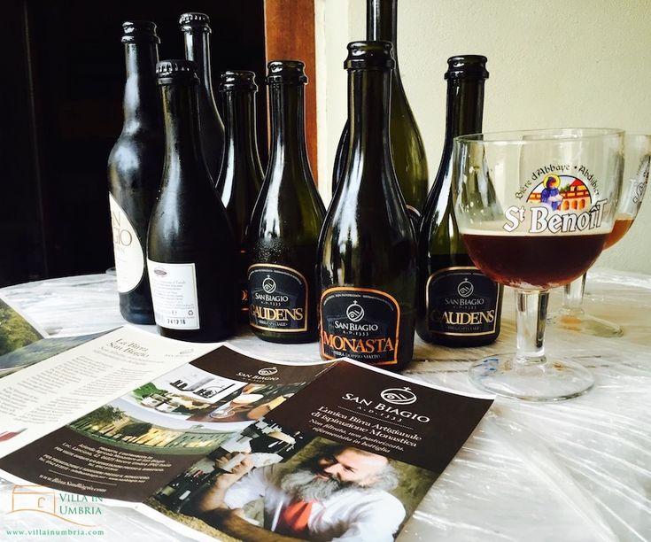 Craft beer tasting in Nocera Umbria