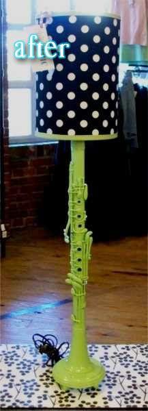 Clarinet Lamp: Clarinet Rooms, Crafts Ideas, Clarinets, Broken Clarinet, Repurpo Clarinet, Bedrooms Ideas, Turning Lamps, Clarinet Turning, Clarinet Lamps