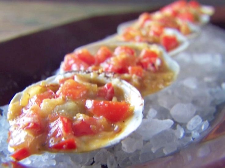 Clams Casino recipe from Giada De Laurentiis via Food Network