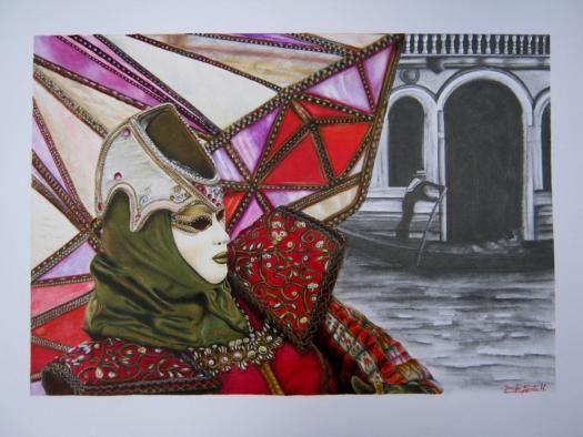 Carnevale di Venezia: Diamante.   GAi - Giovani Artisti italiani