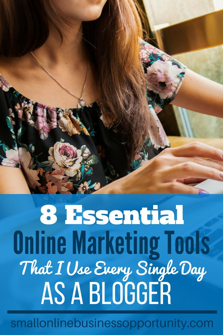 8 Essential Online Marketing Tools I Use Every Single Day As A Blogger  It is so important to be consistent with your online marketing efforts and there is a lot of grunge work and elbow grease that can be avoided with the right tools. Here are essential online marketing tools that I use every single day as a blogger.    #onlinemarketing #digitalmarketing #onlinemarketingtools #digitalmarketingtools #blogging #socialmediamarketing #smm #marketing101 #blogging #blogger