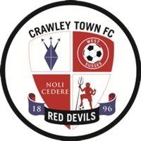 1896, Crawley Town F.C. (Crawley,West Sussex, England) #CrawleyTownFC #England (L9120)
